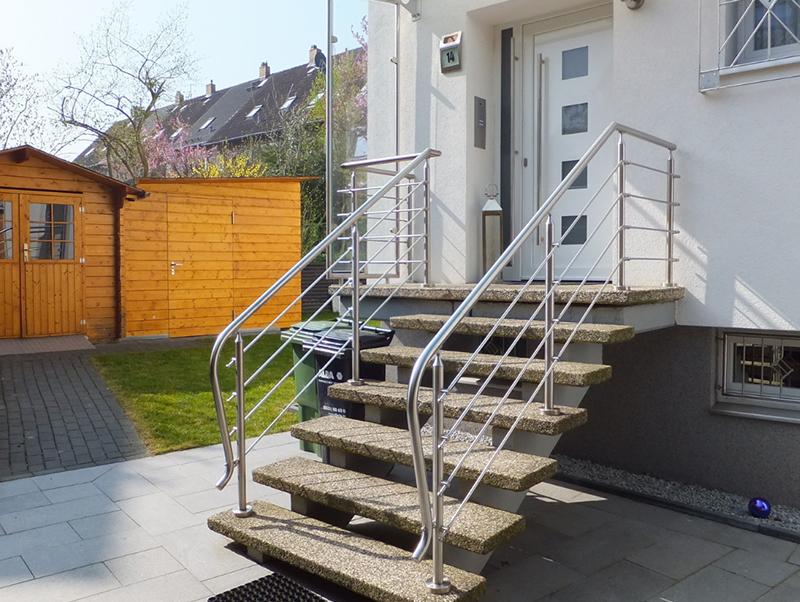 Metallgeländer Braunschweig Geländer Haustür Treppe