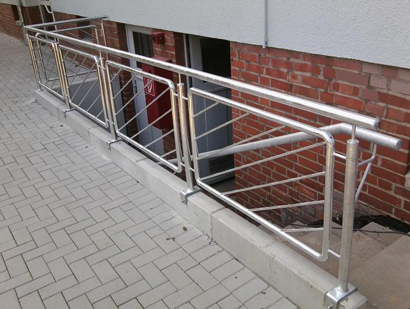 Metallgeländer Braunschweig Geländer Treppe