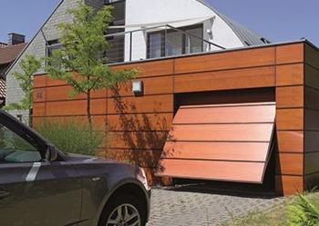 Auto Hof Garagentor Schwingtor