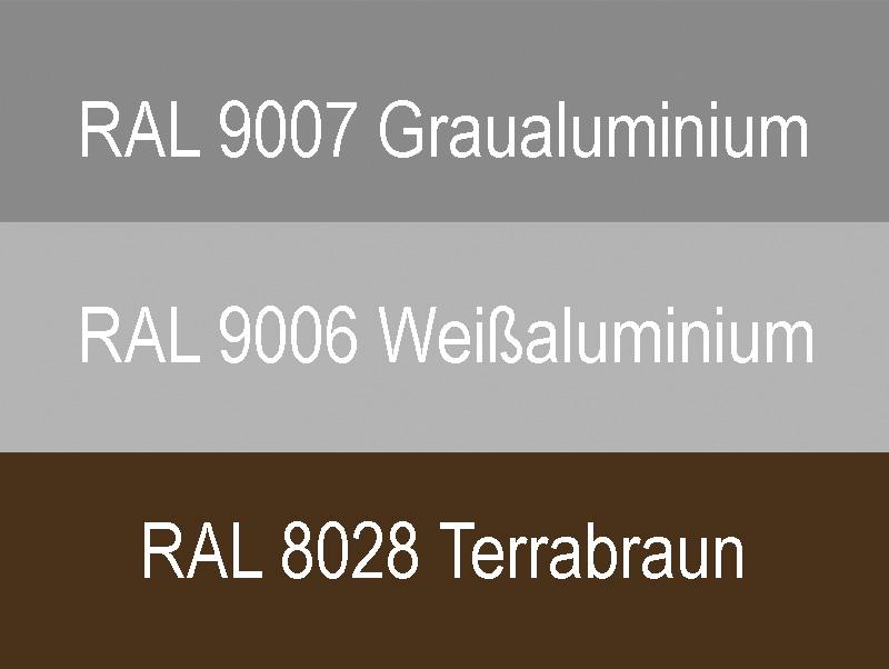 Garagentor Sektionaltor Farben grau weiß braun